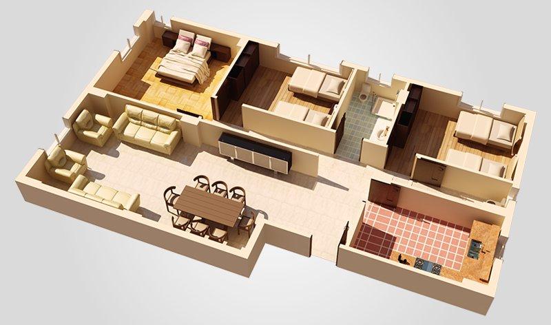 Apartment 2 3d 2