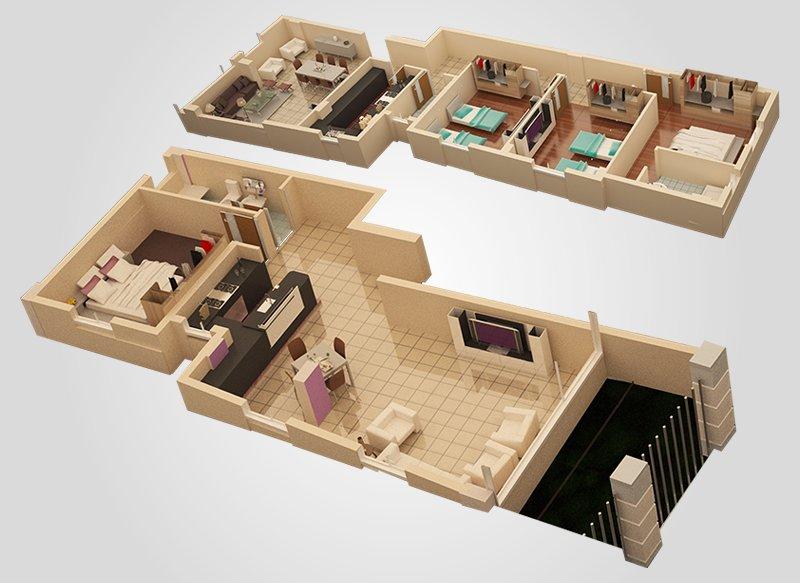 Duplex 2 3d