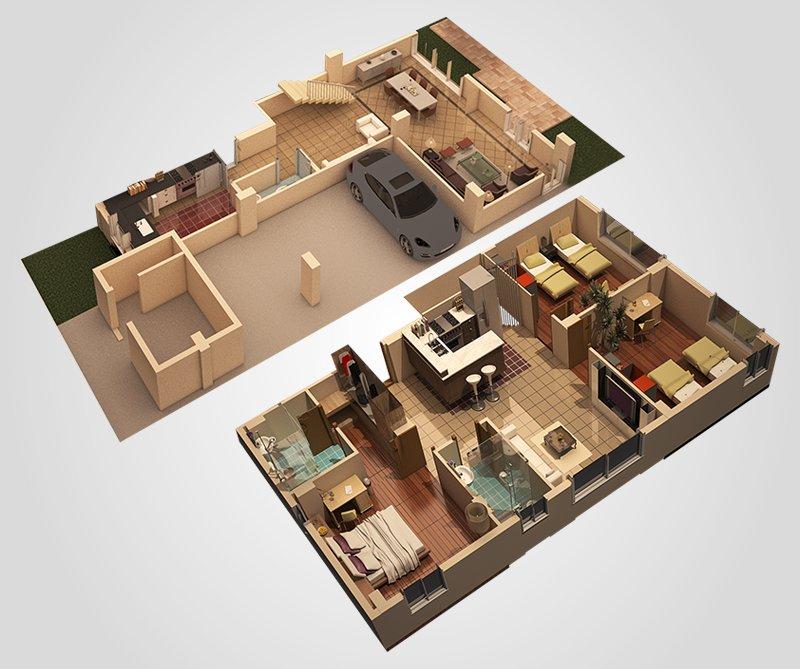 Duplex 2 420 3d